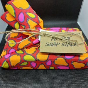 LUSH Cosmetics - Festive Soap Stack